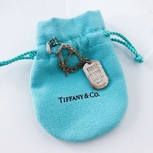 Tiffany & Co NWM SF 2012 Sterling Silver Necklace